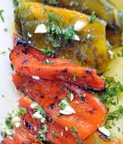 Grilled Bell Pepper Recipe - Peperoni alla Griglia