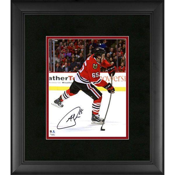 """Andrew Shaw Chicago Blackhawks Fanatics Authentic Framed Autographed 8"""" x 10"""" Red Jersey Shooting Photograph - $99.99"""
