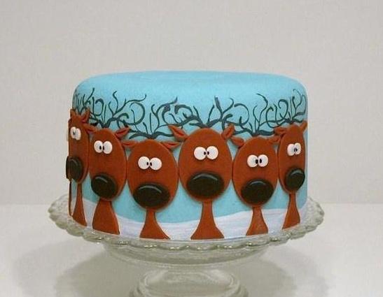 Rénszarvas torta ;)