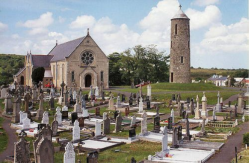 https://flic.kr/p/QVNT | cemetery and church in Co. Donegal | in Bruckless
