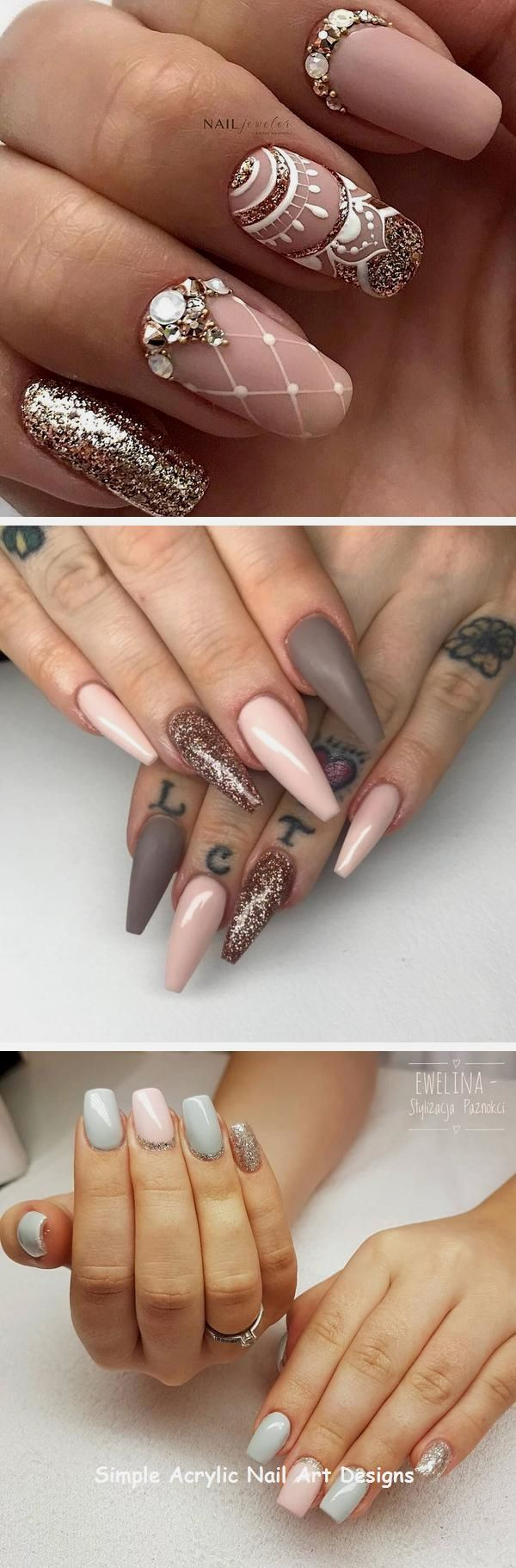 20 Great Ideas How To Make Acrylic Nails By Yourself Nails Acrylicnail Nail Art Hacks Acrylic Nail Art Acrylic Nails