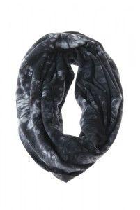 S16B, Black tube scarves.