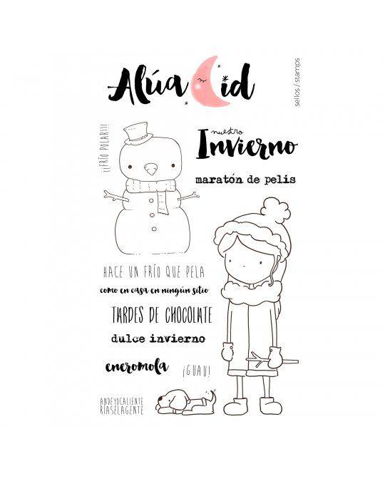 Alua Cid sello Eneromola - RitaRita.es   Niñas y Niños   Pinterest ...