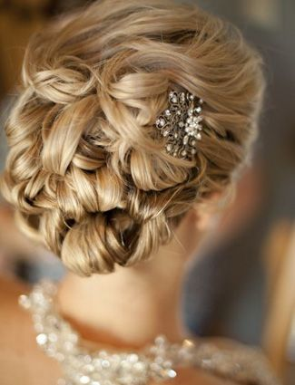 30 Romantic Wedding Hairstyle Ideas From Pinterest   Daily Makeover