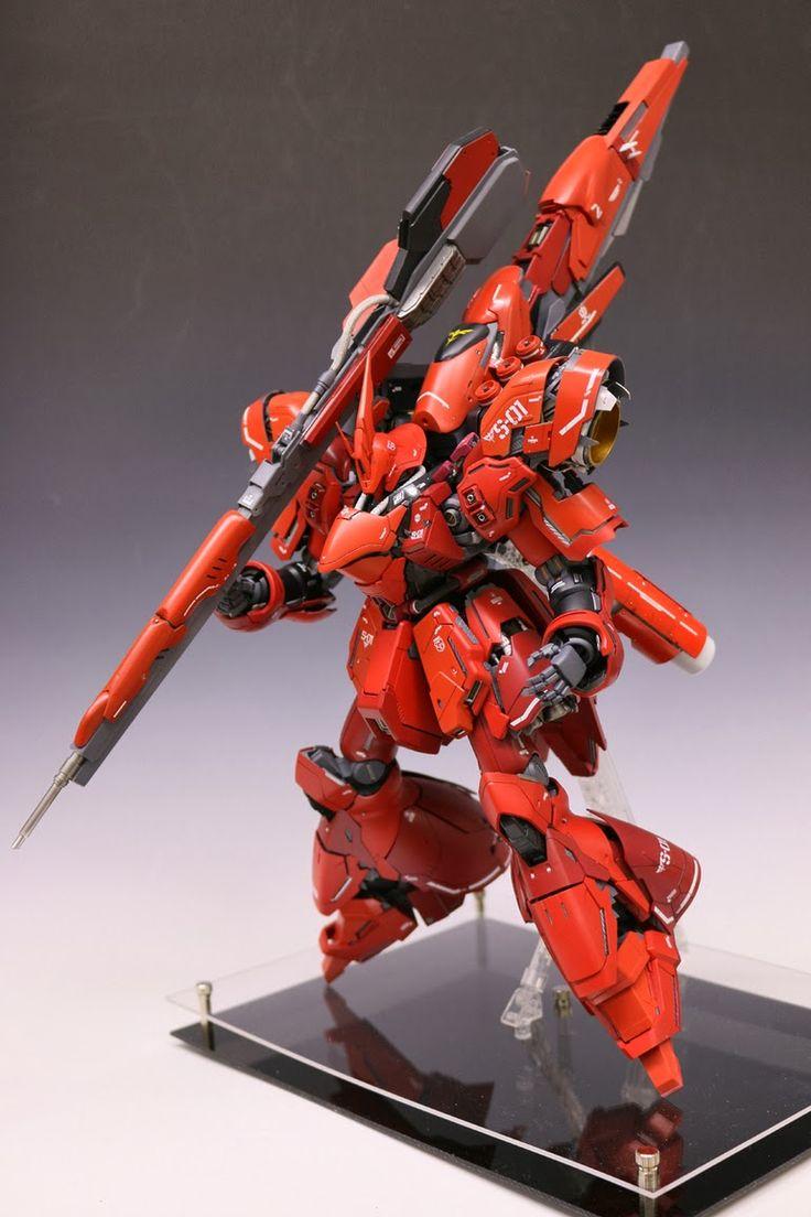 GUNDAM GUY: MG 1/100 MSN-04 Sazabi Ver.Ka - Customized Build