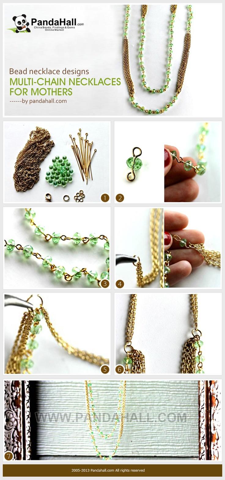sandylandya@outlook.es  necklaces for mothers, bead necklace designs