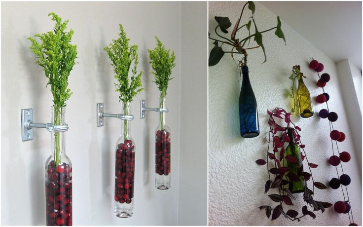 9 потрясающих идей использования бутылок в интерьере | http://idesign.today/dekor/9-potryasayushhix-idej-ispolzovaniya-butylok-v-interere