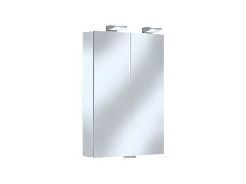 Keuco Royal 35 13501171301 Mirror Cabinet Without Drawers 600 X 840 X 150 Mm Stained Anodised Silver Multicoloured