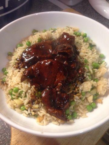 Vicki-Kitchen: Tasty Chinese style pork (Slimming world friendly)