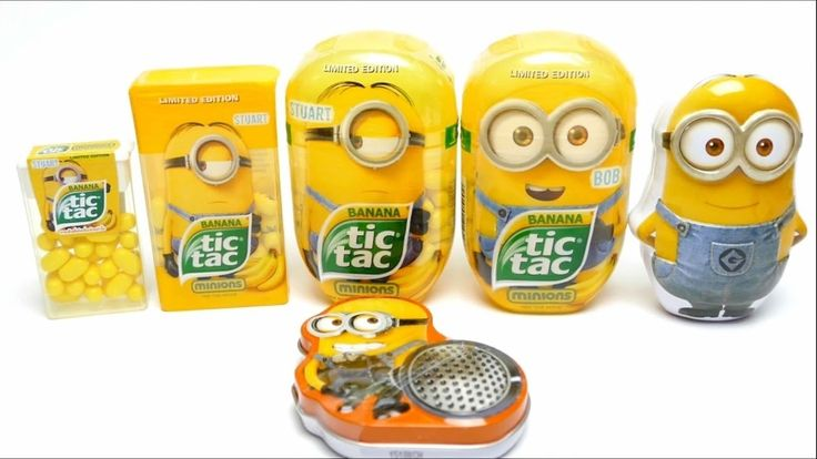 NEW Minions!!!  Minions Tic Tac Candy Collection - Limited Editions