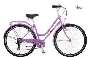 Probike Vintage Ladies Bike Lavender 2014