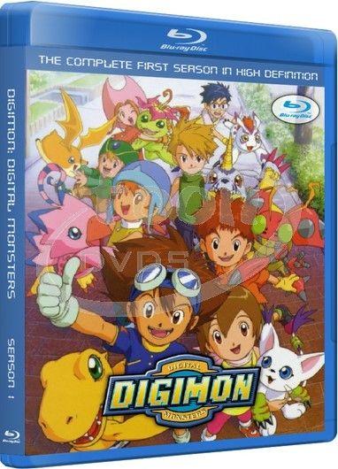 Extremistanime: [TK][Mega] Digimon Adventure [54/54][Lat/Jap][BD-Box]
