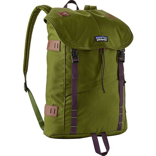 Patagonia Arbor Pack 26L - Sprouted Green - School Backpacks (€80) ❤ liked on Polyvore featuring bags, backpacks, green, zip backpack, laptop daypack, patagonia bags, shoulder strap backpack and patagonia backpacks