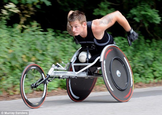 Royal Marine Commando Joe Townsend, Team GB - Triathlon (Paralympics 2016)