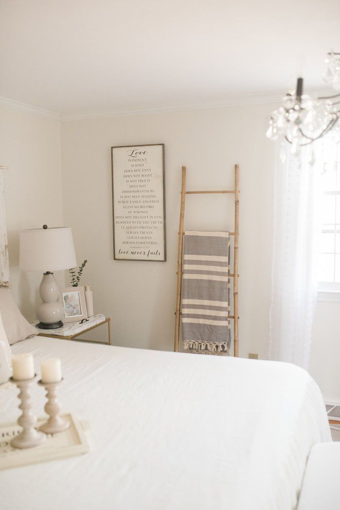 French Country Farmhouse Decor // Our Bedroom | Fab Interiors & Home on romantic homes bedrooms, country girl bedrooms, better homes and gardens bedrooms, country floral bedroom, mountain view bedrooms, condo bedrooms, apartment bedrooms, country bedrooms with oriental rugs, country living room, country living bedrooms, hgtv country bedrooms,