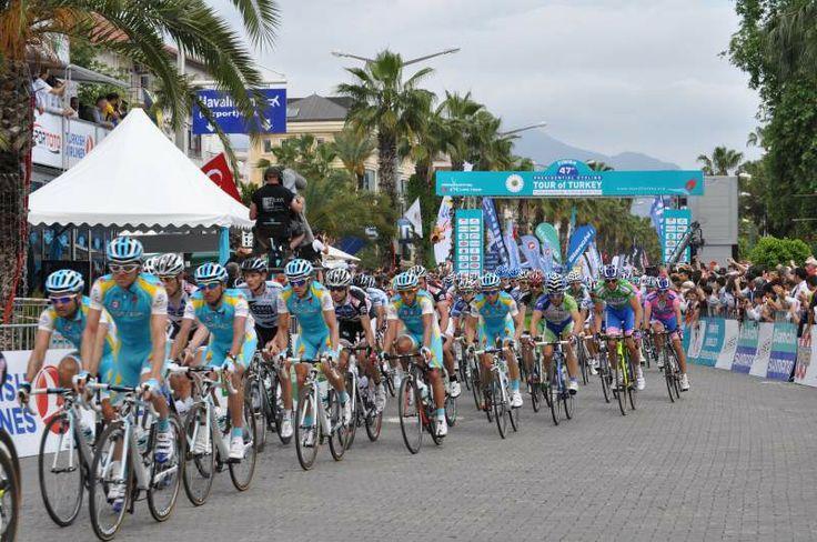 2011 Yılı 47. Cumhurbaşkanılığı bisiklet turu  Alanya / Türkiye