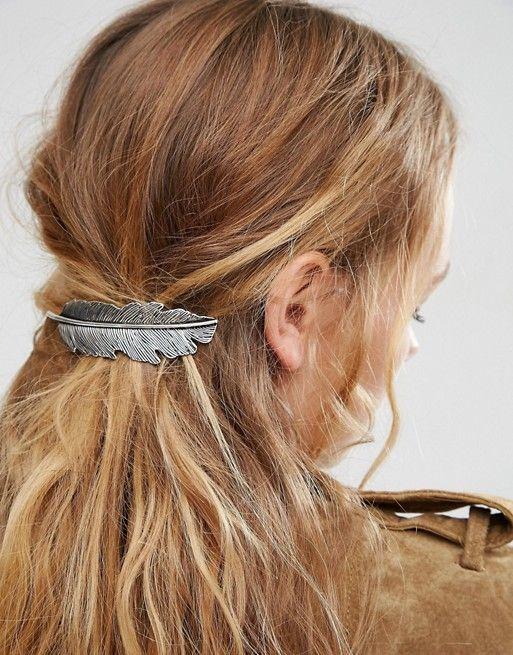ASOS | ASOS - Fermaglio per capelli con piuma