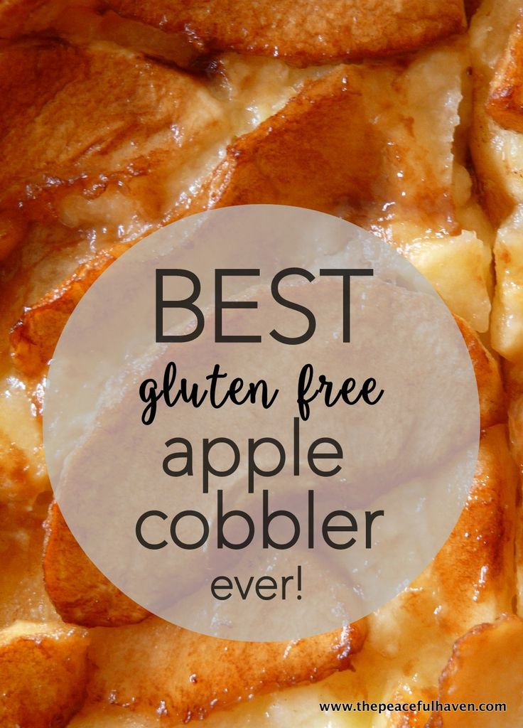 This recipe for apple cobbler is mouth watering, healthy and nutritious!