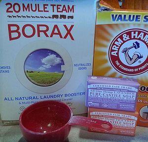 Homemade Cloth Diaper Detergent Ingredients - 2012, HC.