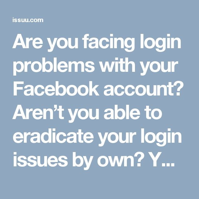 Are you facing login problems with your Facebook account? Aren't you able to eradicate your login issues by own? You don't need to worry about that as we are just a few dial tones away. We have a dedicated team of troubleshooters who are available 24/7 round the clock to help you out on any matter. Call Facebook Tech Support number 1-850-361-8504. Visit-http://www.mailsupportnumber.com/facebook-technical-support-number.html