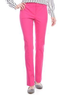 Crown & Ivy™ Women's Bi-Stretch Pants - Love Pink - 14 Average
