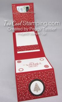Peggy - candy cane gift card holder 5