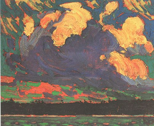 "Tom Thomson - ""Storm Clouds"""