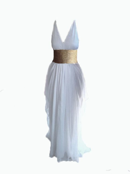 Athena Chiffon wedding Gown by Boo Le Heart