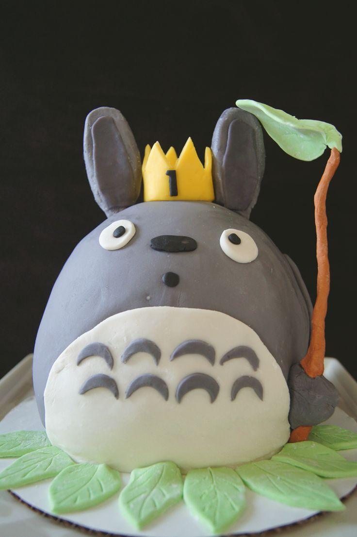 Totoro Cake Studio Ghibli Totoro Pinterest Studios