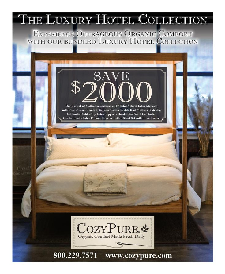 a brief look at the story and products of cozypure organic mattresses and bedding at