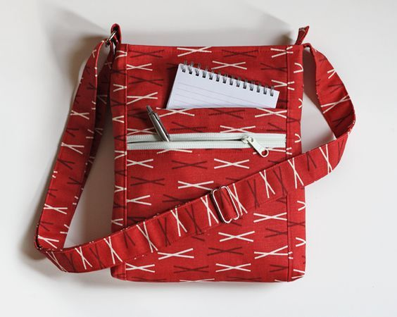Free Messenger Bag Sewing Pattern: