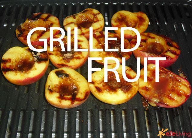Grilled fruit #desert #fruit
