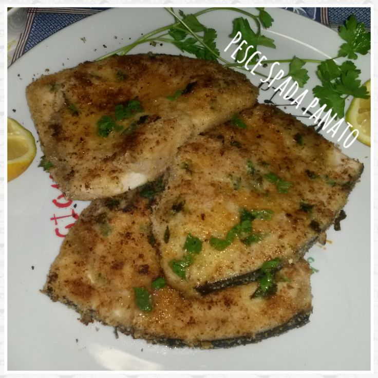 Sicilian breaded swordfish | Pesce spada panato alla siciliana | Una spia in Cucina