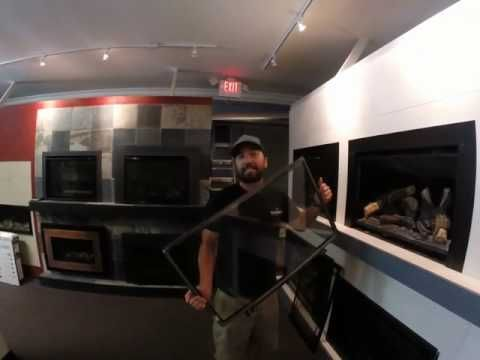 (3) Kozy Heat Gas Insert Glass/Screen Removal Tutorial - YouTube