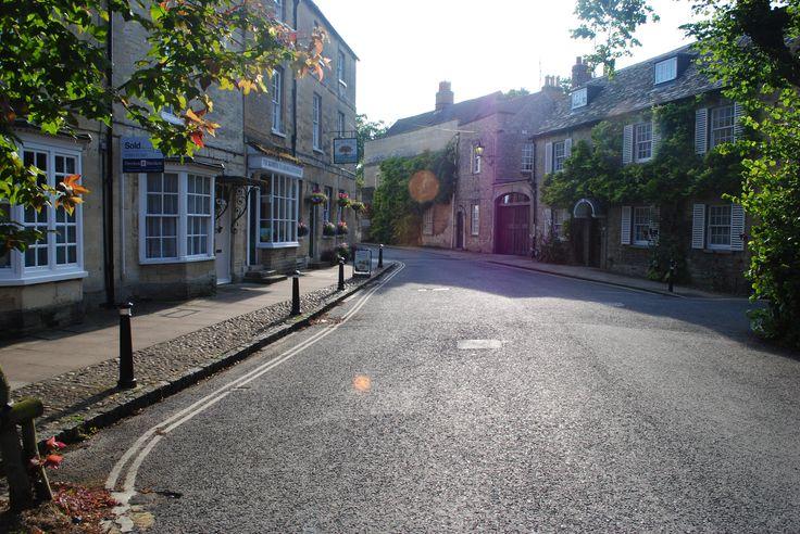 Park Street, Woodstok, Oxfordshire, UK (ao lado de Blenheim Palace).