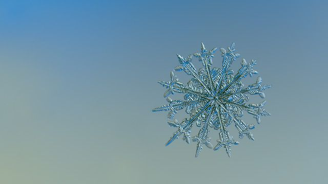 Snowflake ultra HD wallpaper: 12 Months