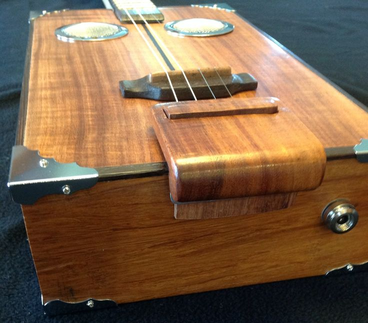 Four string guitar with recycled Bamboo flooring for back and sides with Koa two piece top. Bamboo FloorCigar Box ... & 175 best Cigar Box Guitars images on Pinterest | Cigar box guitar ... Aboutintivar.Com