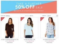 Take a Further 50% off Sale @ Katies