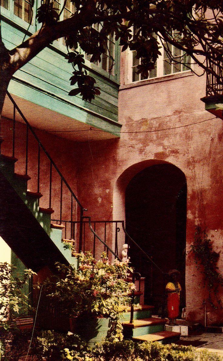 Maison Montegut Courtyard New OrleansLouisiana 1163