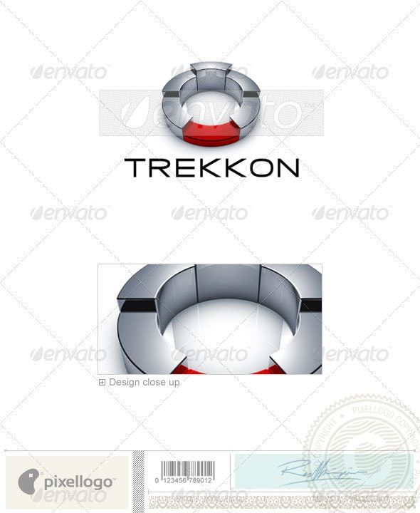 Technology Logo – 3D-674