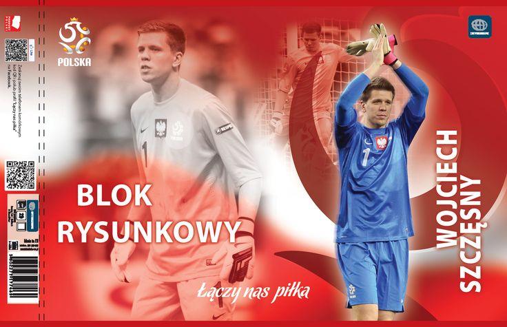 Zeszyty i bloki z reprezentantami Polski, produkty licencjonowane