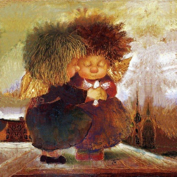 Добрые картины художницы Галины Чувиляевой