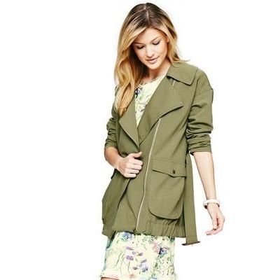 Olive Military Jacket by South. Buy for $49 from Very.co.uk