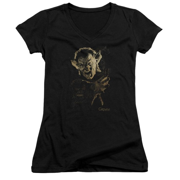 """Checkout our #LicensedGear products FREE SHIPPING + 10% OFF Coupon Code """"Official"""" Grimm / Murcielago - Junior V-neck - Grimm / Murcielago - Junior V-neck - Price: $29.99. Buy now at https://officiallylicensedgear.com/grimm-murcielago-junior-v-neck"""
