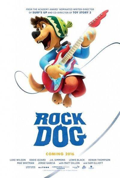 Rock Dog 2017 Movie Poster