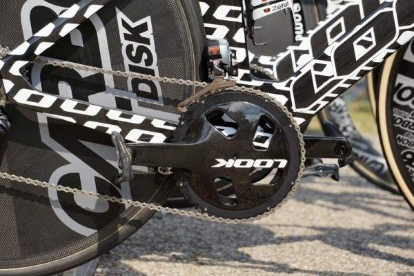 2016 Look Cycles TT aero road bike at tour de france 2015 for Bretagne-Seche pro team