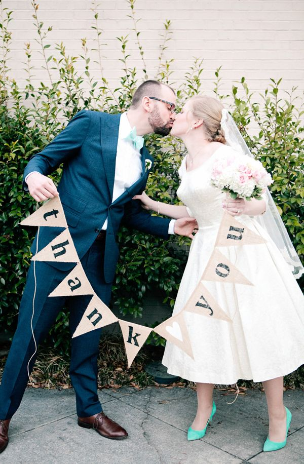 1950s Inspired Auburn Wedding