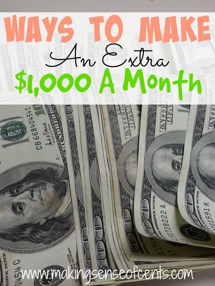 how to make extra money b.c