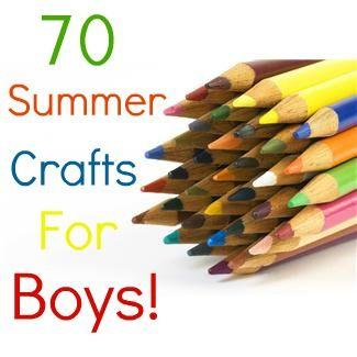 summer crafts for boys