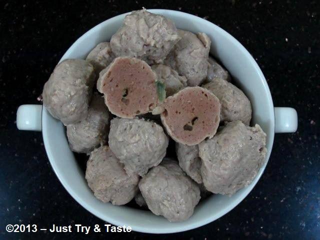 Homemade Bakso Daging Sapi: Percayalah, kali ini mental! | Just Try & Taste